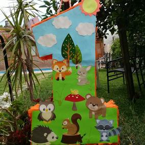 Souvenir Animales Del Bosque Souvenirs Para Cumpleanos Infantiles