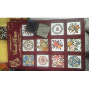 Exhibidor Vintage Espejos Dama Portatiles Vintage Mosaico