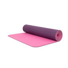 Tapete De Yoga  Yoga Mat 6mm Bodyfit Bf-ym06tx-md Morado 2d4d2694bbda
