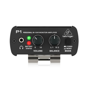 Amplificador P/ Fones Behringer Powerplay P1 - Pc0009