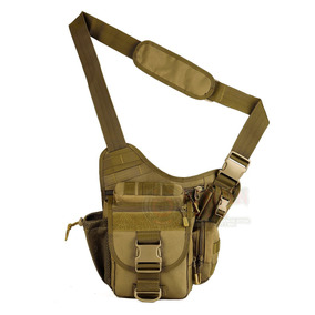 Mochila Tactica Militar Mariconera Push Pack Molle Coyote