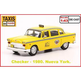 Taxis Del Mundo. Checker 1980. Nueva York. Escala 1:43.
