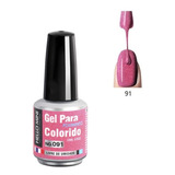 Esmalte Gel Led Uv Hello Mini 15ml Unha Seca Na Cabine