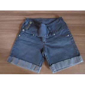 Shorts Jeans Feminino - Tam: 38 - Marca: Shyro