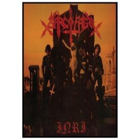 Sarcófago - Inri Poster A3 (42 X 29,7 Cm) Black Metal