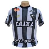 Camisa Do Botafogo Nova Listrada Branca 2019 Bordado Barato 3c92a753bf1b3