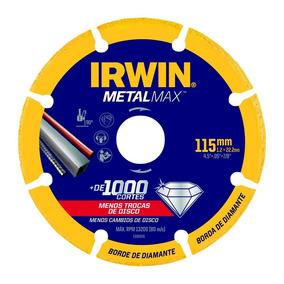 Disco De Corte Diamantado 4.1/2 115mm Metalmax Inox Irwin