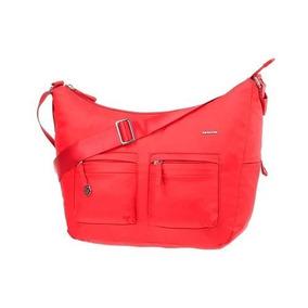 Cartera Samsonite Move It Shoulder M 2 Pockets Rojo