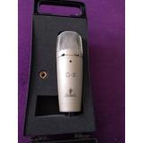 Microfono Behringer C3 Mas Soporte Mas Pedestal,mas Cable