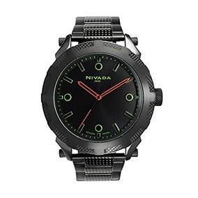 Nivada Np15416mnena Reloj Análogo, Para Hombre, Redondo, Co
