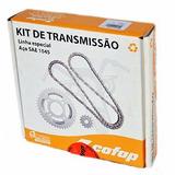 Kit Relação Cofap Biz 125 2006 2007 2008 Aço 1045 Cod 413800