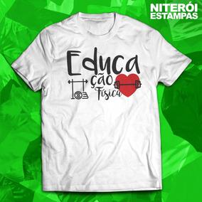 4a27819c70f8d Camiseta Educação Fisica Camisa Universitaria Bandas - Camisetas e ...