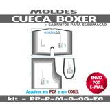 Molde Cueca Box Dia Dos Pais P Ao Xg Fracionado Fretegratis