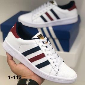 cc7b80f4981 Tenis Adidas Superstar Rojo blanco - Ropa y Accesorios en Mercado ...