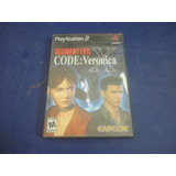 Resident Evil Code Veronica X Para Play Station 2