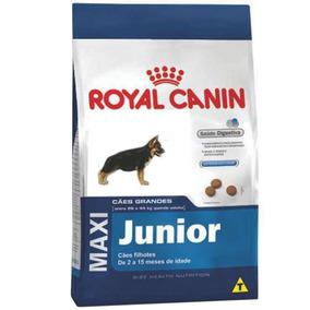 Ração Royal Canin Maxi Junior Filhotes Porte Grande 15kg.
