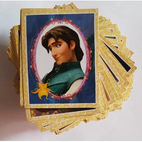 Lote 48 Figurinhas Diferentes Enrolados Disney - Sem Álbum