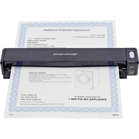 Escaner Fujitsu Scansnap Ix100 Wireless Mobile Scanner Wifi