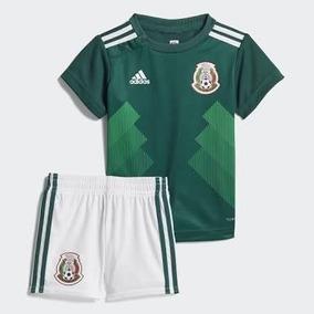 México adidas 2018 Kit Niño Talla 14 Años Playera Y Short fc130dbd79a62