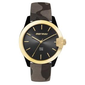 Relógio Mormaii Feminino Preto Camuflado Mo2035ik 8p
