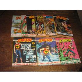 Zagor Editora Record Ano 1989 Lote 9 Edições Originais