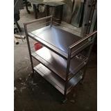 Fabricamos Mesas Carros Estante Anaquel Acero Inox A Medidas