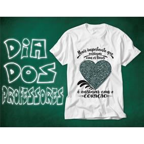 Camisetas Frases Professor Camisetas Manga Curta No Mercado Livre