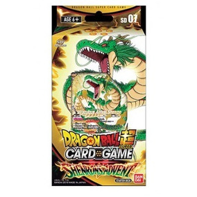 Dragon Ball Scg - Starter Deck - Shenron´s Advent - Dbsd07