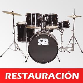 Batería Acústica Cb Drums Incompleta Oferta 50-trumps (leer)