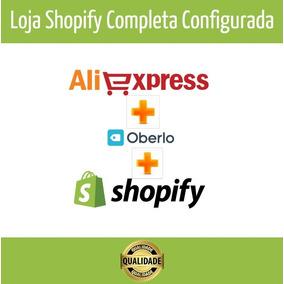 Loja Shopify Dropship Profissional + Bónus Aprendizagem