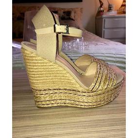 ccf90e157 Sandalia Plataforma Anabela Schutz - Sapatos no Mercado Livre Brasil