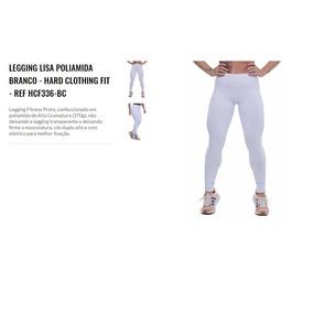 Calça Legging Lisa Cós Duplo Alto C  Elástico Alta Qualidade d75bd2dca2f