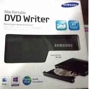 Dvd Quemador Externo Slim Portatil Samsung Mod Se208db-tsbs