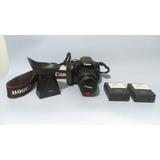 Canon T3i Con Extras.