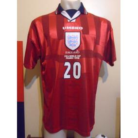 Camiseta Selección Inglaterra Mundial Francia 1998 Owen  20 804ecf8756b84