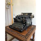 Máquina De Escribir Antigua Royal