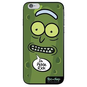 Capa Para Celular Pickle Rick Rick And Morty Oficial - Beek