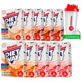 Kit 12 Diet Way Shake - 420g + Brinde Coqueteleira - Midway