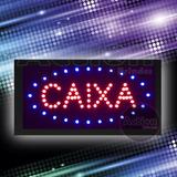 Painel De Led Letreiro Luminoso Placa Caixa - 110v
