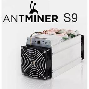 Antminer S9 14.5 Th/s Listo Con Cable Y Fuente De Poder