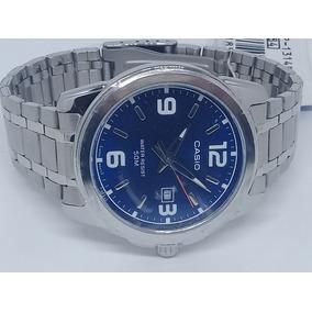 b3eeff66150 Relogio Casio Mtp 1314 Aço - Relógios De Pulso no Mercado Livre Brasil