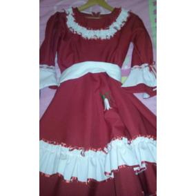 Vestido Cueca Huasa China Talla 10