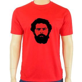 d2a260ba7 Camisa Lula Vermelha - Camisetas Manga Curta para Masculino no ...
