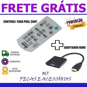 Controle Projetor Sony + Conversor Vga/hdmi