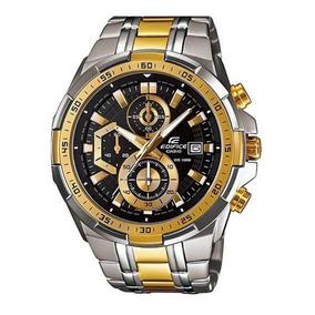 8ed62bc1813 Relogio Casio Edifice Dourado - Relógio Casio Masculino no Mercado ...