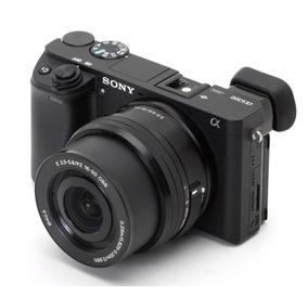 Câmera Sony Alpha A6300+16-50 4k Wifi+32gb Garantia Sony Nfe