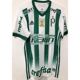 Camisa Palmeiras Usada Jogo Dudu Vs Vitória Brasileiro 2017