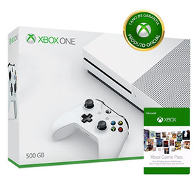 Console Microsoft Xbox One S 500gb Com Game Pass