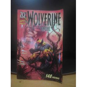 Wolverine Anual 3 Marvel Comics Panini Comics - Bom Estado