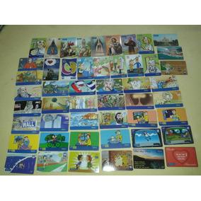 Cartão Telefonico Lote 28 Com 50 Unidades Variadas